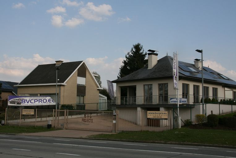 BVC Projects was gevestigd langs de Oudenaardsesteenweg in Erpe.