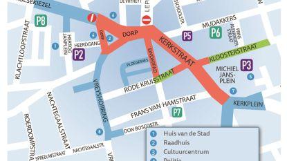 Eerste gedeelte van werken in Lommels stadscentrum is afgerond: verkeer- en parkeerreglement krijgt update