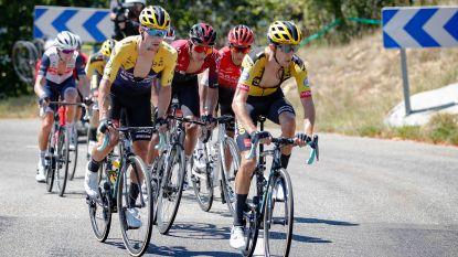 Jumbo-Visma deelt tik uit aan Ineos: Bernal geïsoleerd, Roglic sprint eenvoudig naar winst