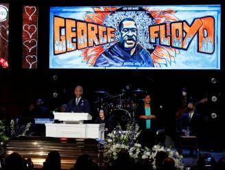 """Dominee Al Sharpton tijdens herdenkingsdienst George Floyd: """"Jullie drukken een knie in onze nek"""""""