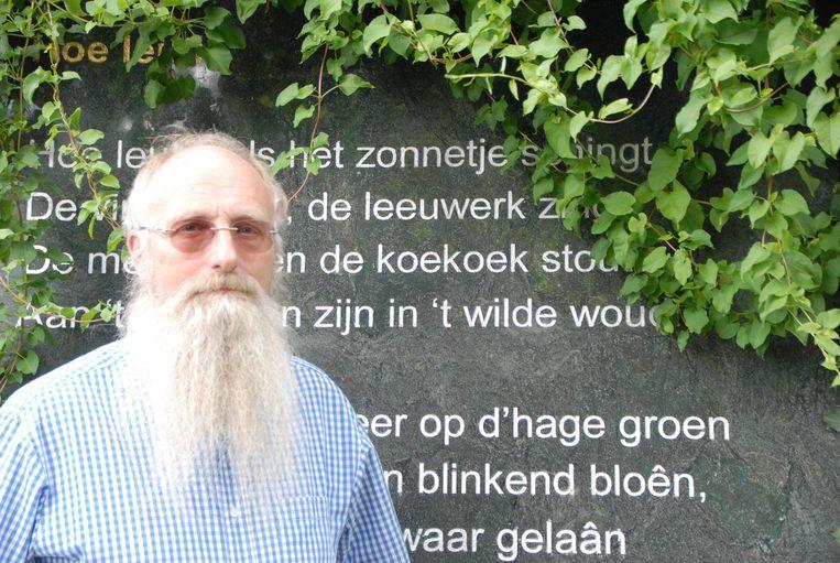 Luk Schelfhout (61) dingt bij de komende verkiezingen met de eenmanspartij Durf! opnieuw naar de gunst van de kiezer.