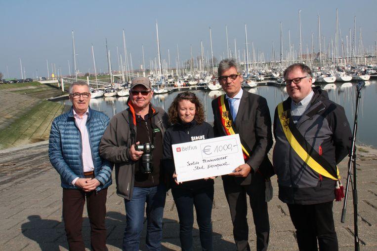 Nieuwpoort schenkt 1.000 euro aan Sea Life