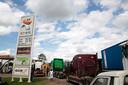 Tankstation in  Harare, Zimbabwe.