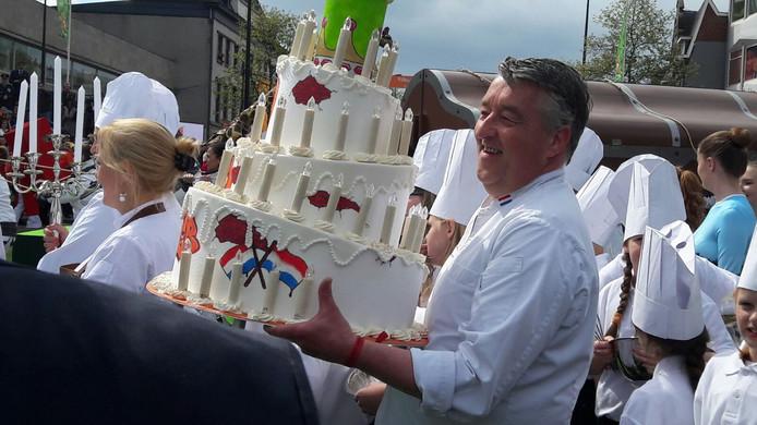 Onze bekende bakker Robèrt van Beckhoven.