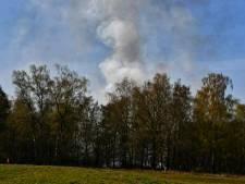 Natuurbrand nabij Het Rutbeek in Enschede onder controle