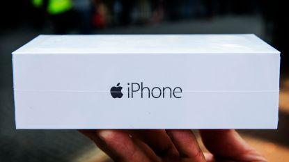 IPhone-dieven stelen... lege verpakkingen
