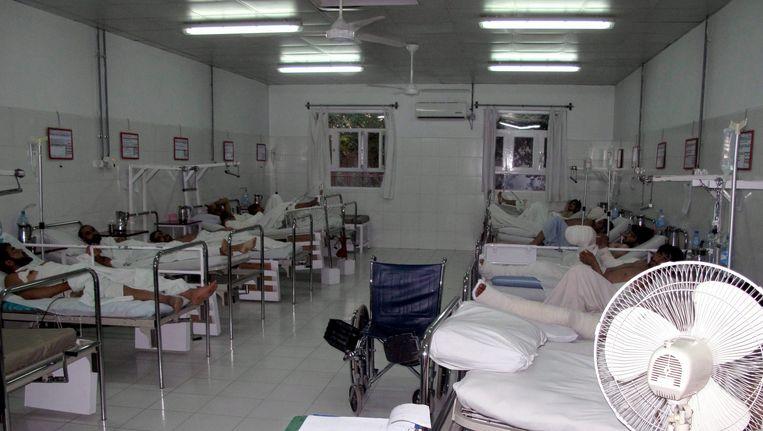Een ziekenhuis in de Afghaanse provincie Helmand op archiefbeeld. Beeld epa