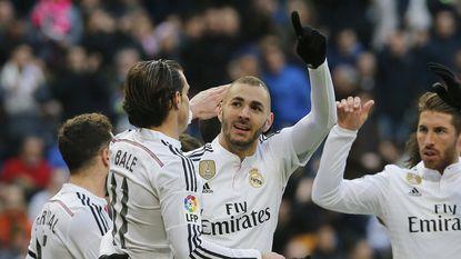 Geschorste Ronaldo ziet Real winnen ondanks fameuze misser Bale
