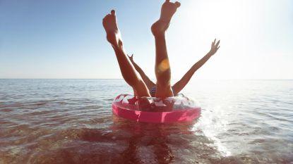 """Britse kustwacht waarschuwt na 15 interventies op één dag: """"Gebruik opblaasspeelgoed enkel in het zwembad"""""""
