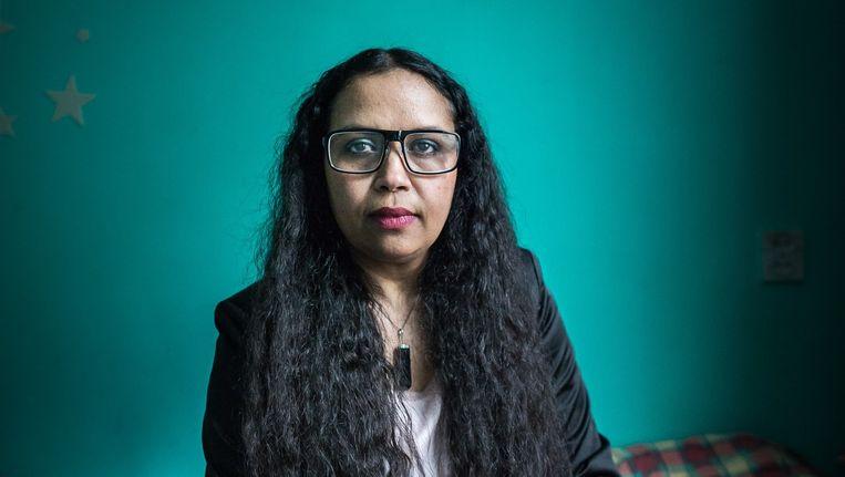 Schoonmaker Eloisa Delgado van het Memphis Hotel: 'Ze behandelden ons als slaven' Beeld Mats van Soolingen