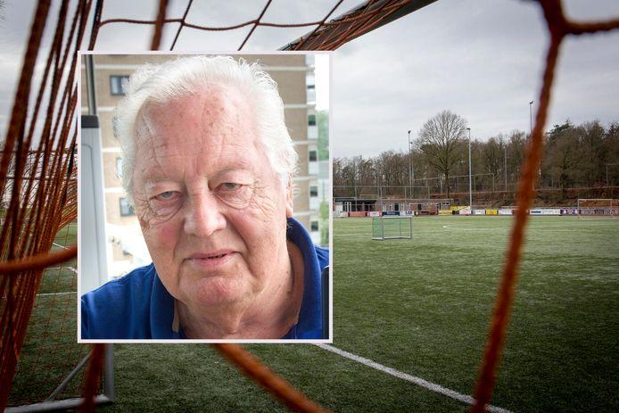 Sportpark De Pinkenberg van SC Veluwezoom, de plek die zoveel betekenis had voor Hans van Roest (inzet).