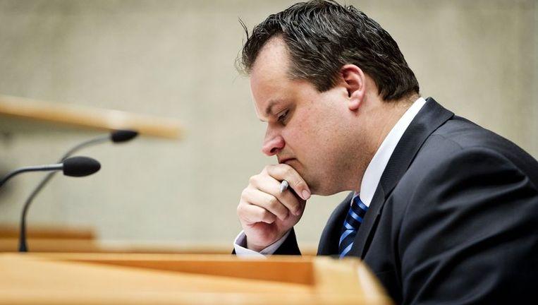 Minister Jan Kees de Jager van Financien Beeld anp