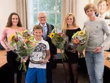 Lopik trots op vier (!) polsstokkampioenen