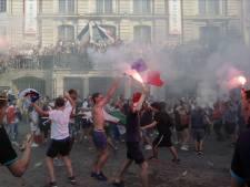 Rellen in Parijs na WK-winst, winkelruiten sneuvelen, traangas ingezet