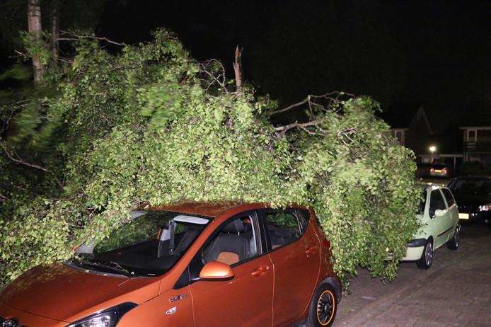 Stormschade in Oldenzaal
