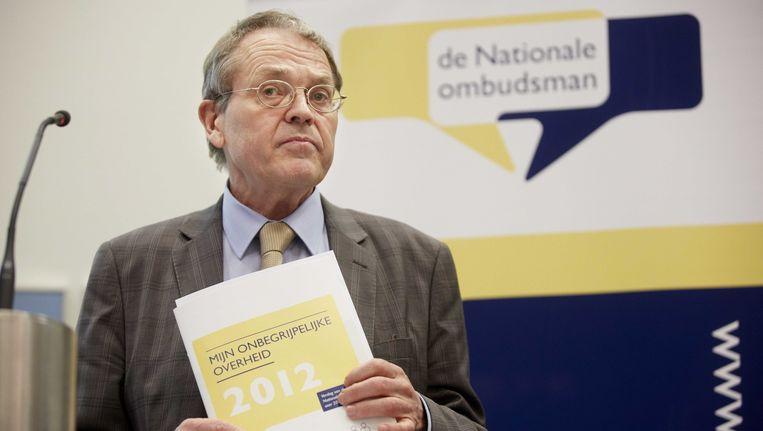 De Nationale ombudsman Alex Brenninkmeijer. Beeld ANP