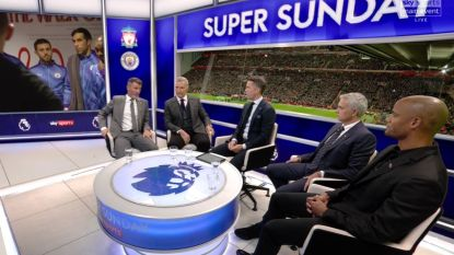 "Mourinho prikkelt de analist Kompany: ""Geen enkele keer heb ik jou gehoord. Geen enkele dank u, mister"""