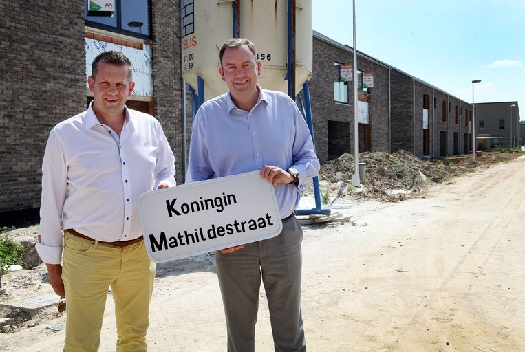 Bert Stippelmans (CD&V) en Pascal Vossius (open VLD) in de zomer van 2013