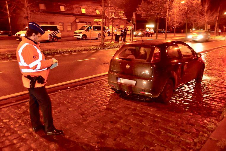 In Rekkem werden vanavond tientallen auto's aan de kant gezet, in het kader van een alcoholcontrole.