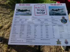Monument voor 'Dave' en zijn crew van neergestort vliegtuig in Gestel