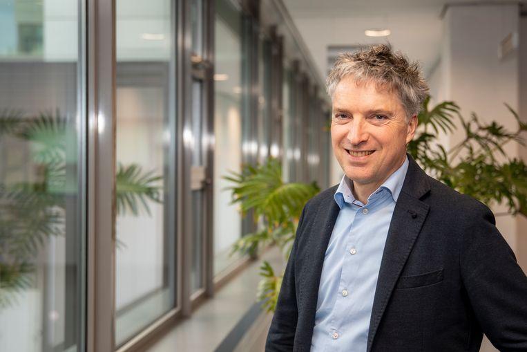 Patrick Fey, vicevoorzitter van vakcentrale CNV, overlegt deze weken met andere pensioenonderhandelaars om zo voor de zomer een nieuw pensioenstelsel te kunnen presenteren. Beeld CNV