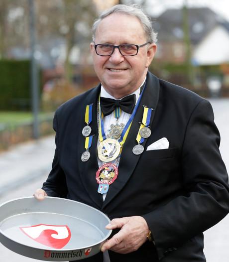 Gerard (Gerrit) Ras was een drijvende kracht achter Striepersgats carnaval