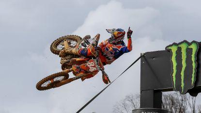 Nederlander Jeffrey Herlings pakt zes op acht in Duitsland, Clément Desalle vierde