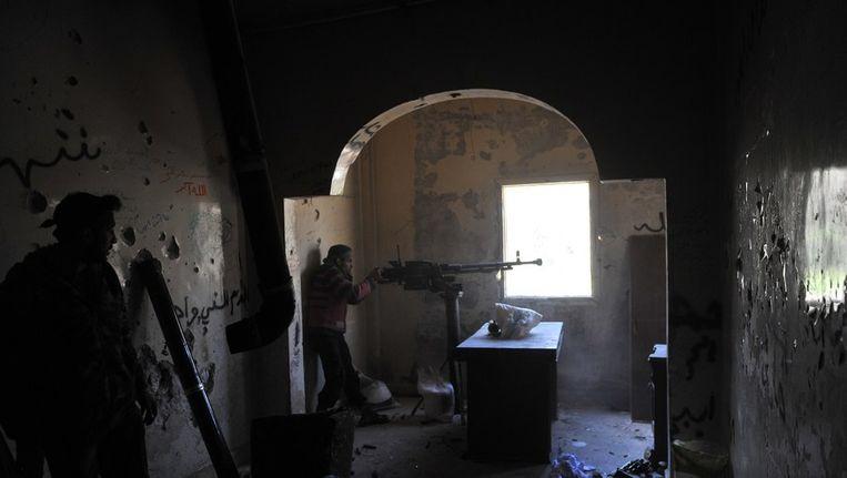 Rebellen in Aleppo Beeld afp