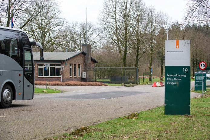 Kamp Nieuw-Milligen in Uddel, gemeente Apeldoorn