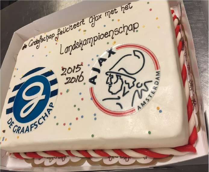 Populair De Graafschap eet felicitatietaart aan Ajax zelf op | Nederlands #CD73