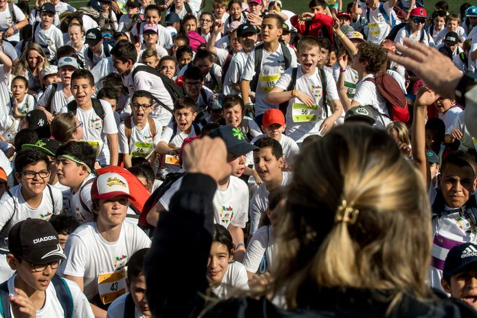 Plus de 1.500 enfants participent à l'évènement sportif.