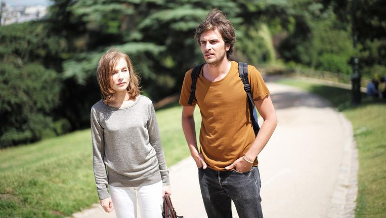Filosofiedocent Nathalie (Isabelle Huppert) voert scherpzinnige discussies met haar briljante leerling Fabien Beeld L'Avenir