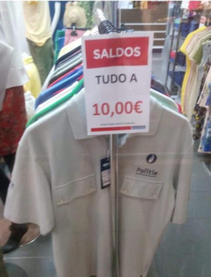 Le polo de la police belge est à vendre au Portugal