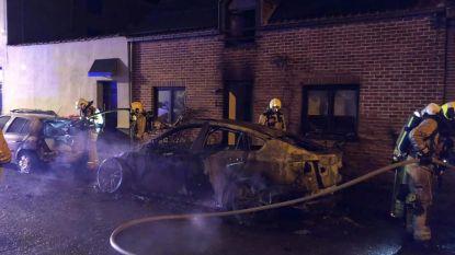 Drie brandende wagens in Zaventem: vuur werd aangestoken