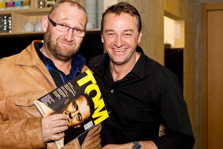 Jan Van Looveren en Tom Waes kennen elkaar van 'Trigger Happy'.