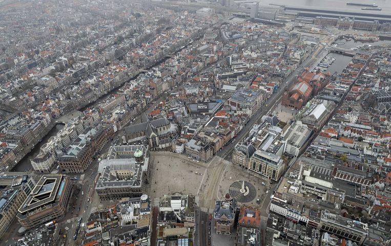 Amsterdam is stilgevallen door de coronacrisis.  Beeld ANP
