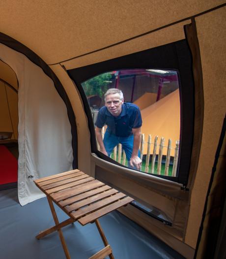 Opgelucht adem halen nu tentenbedrijf De Waard is gered