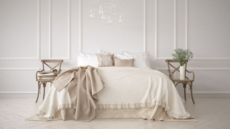 Verf de muren in je slaapkamer in deze kleur en je slaapt altijd als ...