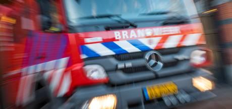 Keet brandt af in Lemselo, brandweer voorkomt erger