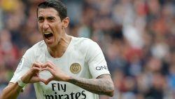 LIVE. Di Maria zet PSG op gelijke hoogte in Rennes na own-goal Rabiot