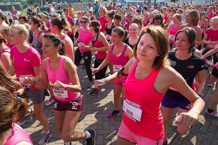 Ladiesrun in Eindhoven