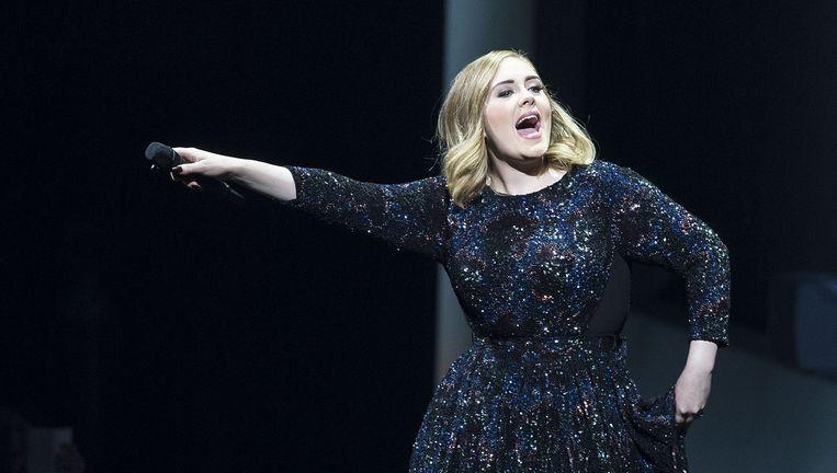 Adele in de Ziggo Dome. Beeld Getty Images