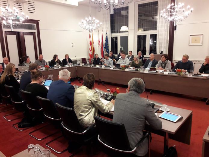 Gemeenteraad van Oisterwijk, bijeen op 15 november 2018