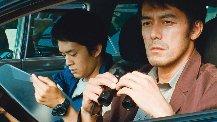 Hoofdrolspeler Hiroshi Abe (rechts) in After The Storm. Beeld