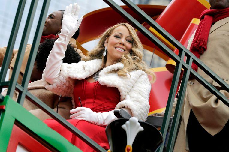 Mariah Carey heeft een record te pakken.