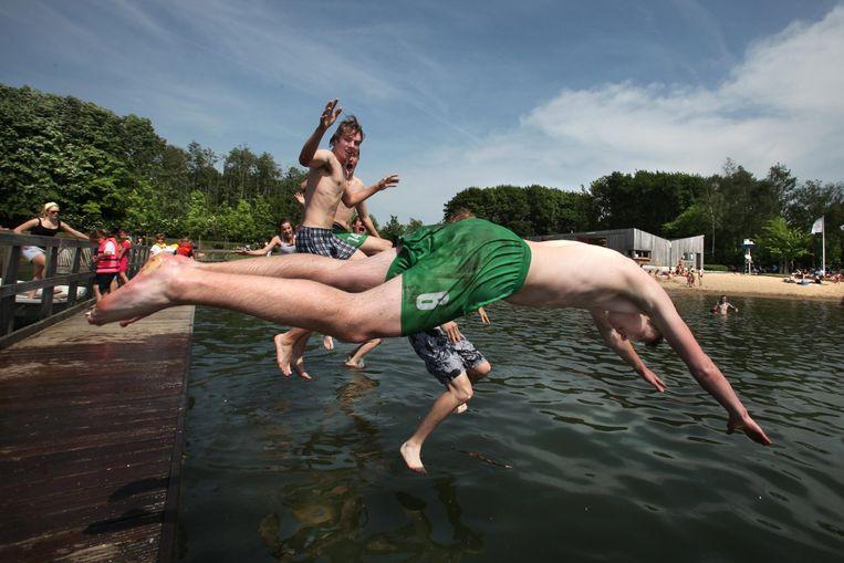 Vanaf 1 juli is de zwemzone in De Gavers terug open