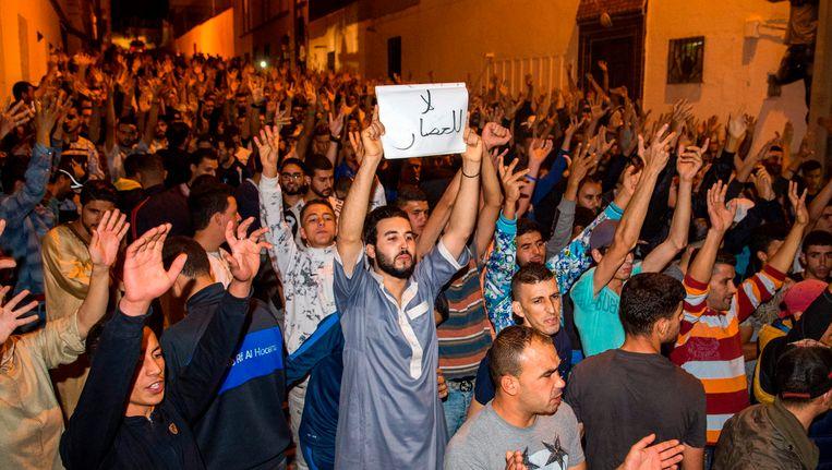 Betogers in Al Hoceima
