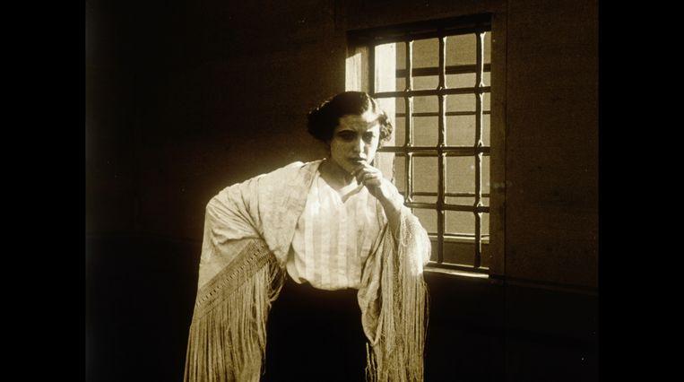 Leonie Brandt (1901-1978) droomde ervan om actrice te worden. Beeld