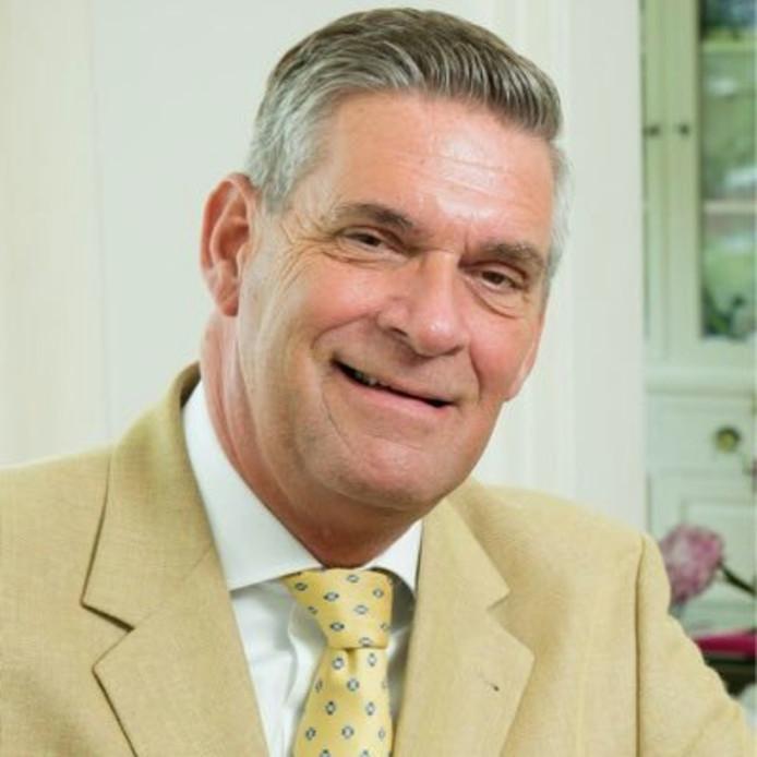 Burgemeester Frits Naafs.