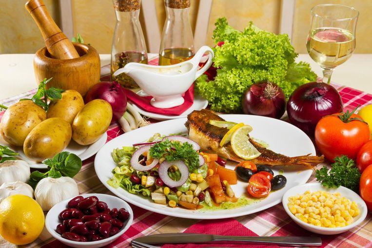 goed dieet voor spiermassa